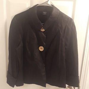 NWT TRIBAL Sportswear 100% Linen 2 Buttons Blazer